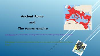 Full SoW Lesson Plans for Roman Republic/Empire