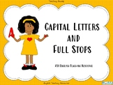 Full Stops and Capital Letters