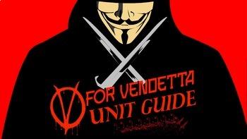Full Unit Plan for Alan Moore's Graphic Novel V for Vendetta