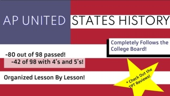 Full United States History Class! 1783-1865