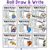 Build A Picture Math and Writing - Full Year Bundle