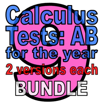 Full Year: 9 Calc AB Tests - TWO VERSIONS EACH (25%+ off w