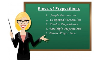 Full report about prepostions in English