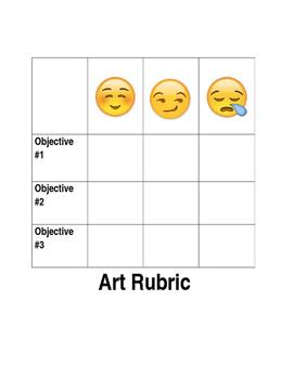 Fun Art Rubric