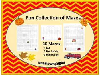 Thanksgiving Halloween Fire Safety & Halloween Mazes Early
