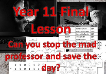 Fun Computing Revision Lesson - Escape Room