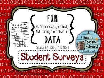 Fun DATA! {Student Surveys}
