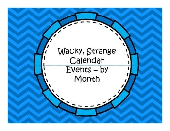 Fun Event Calendar Squares - by Month