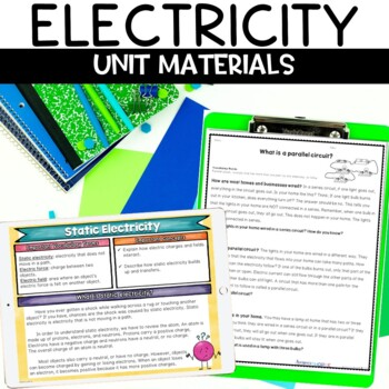 Hands On Electricity Unit - Includes 5 Labs