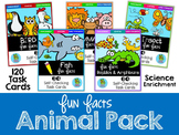 Fun Facts: Animal Edition {Self-Checking Task Cards}