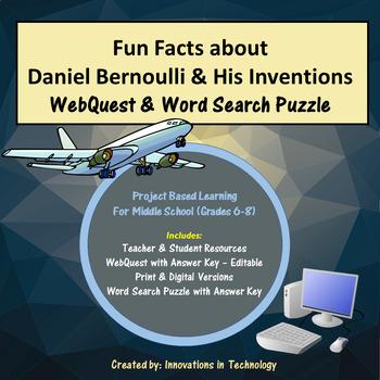 Fun Facts about Daniel Bernoulli - Internet Scavenger Hunt