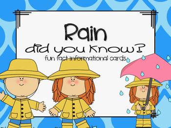 Fun Facts {rain}