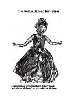 Fun Fairy Tale Play Script Adaptation of The Twelve Dancin