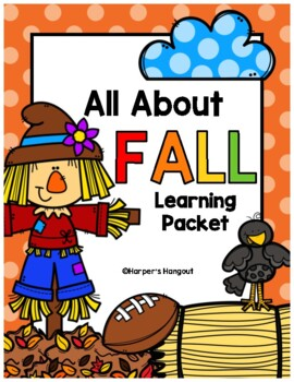 Fun Fall Learning Packet