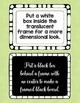 Fun Frames and Borders