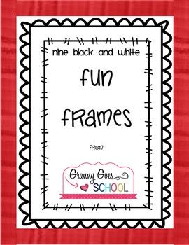 Fun Frames Freebie