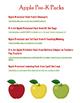 Fun Free Printables for Preschool Fall, Pumpkins, and Apples