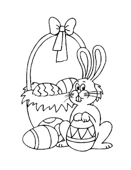 Fun Freebie for Easter-Two Coloring Sheets for Fun