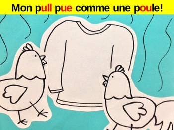 Pronunciation Practice: Fun French Classroom Poster