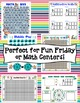 Fun Friday Math Games Mega Bundle (3rd Grade)