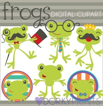 Fun Frog Clip Art
