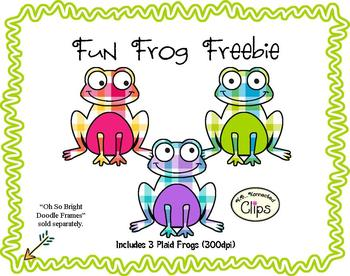Fun Froggie Freebie! - Clip art