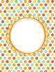 Fun, Funky Bright Polka Dots, Zebra, Chevron Editable Bind