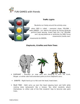 Fun Games Workbook for 2nd grade