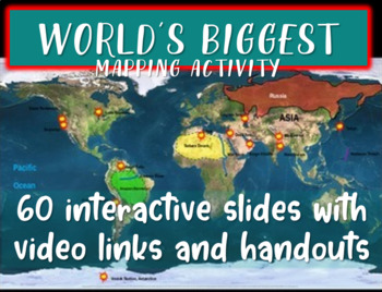 Fun Geography: World's Biggest... (60-slide PPT with video