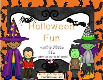 Fun Halloween Centers Pack