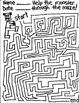 Fun Halloween Maze Packet