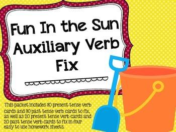 Fun In the Sun Auxiliary Verb Fix