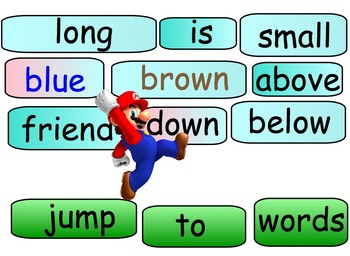 Fun Learning Games with Mario