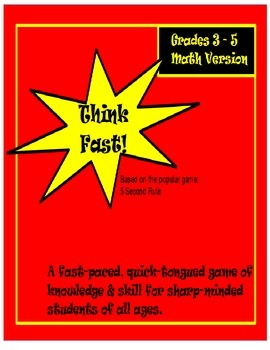 Fun Math Game Center ~ Fractions, Geometry, More~ Grades 3