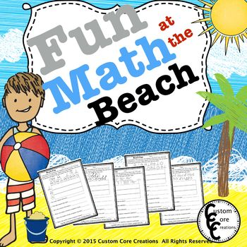 Fun Math at the Beach