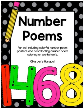 Fun Number Practice with Poems