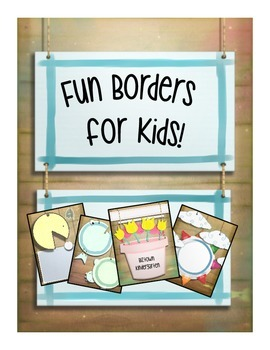 Fun Page Borders for Kids!
