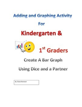 Fun Partner Activity  Graphing Sums using Dice for Kinder