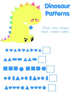 Fun Pattern Worksheet
