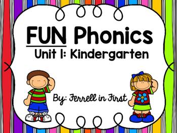 FUN Phonics: Unit 1 Kindergarten