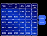 Fun Physical Science Review Jeopardy Powerpoint Game