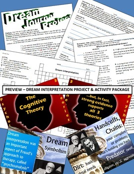 Psychology or English - Fun Activity Package - Dream Inter