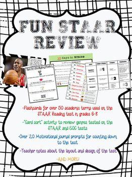 Fun STAAR Test Prep for Grades 6-8