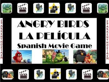 Fun Spanish Movie Scenes Game - Angry Birds the Movie - Pa