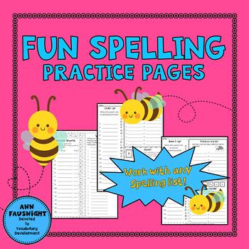 Fun Spelling Practice