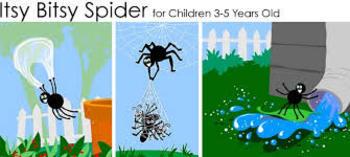 Fun Spider Craft and Nursery Rhyme