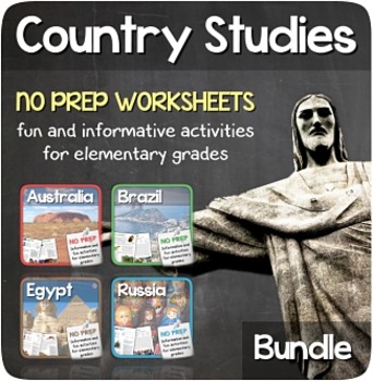 Fun Stuff Bundle (Egypt, Russia, Brazil & Australia)