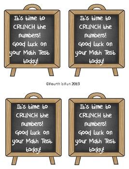Fun Test Motivators