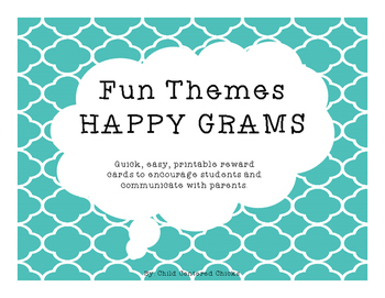 Fun Themes HAPPY GRAMS