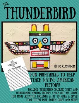 Fun Thunderbird Printables! Hands-On Native American Activ
